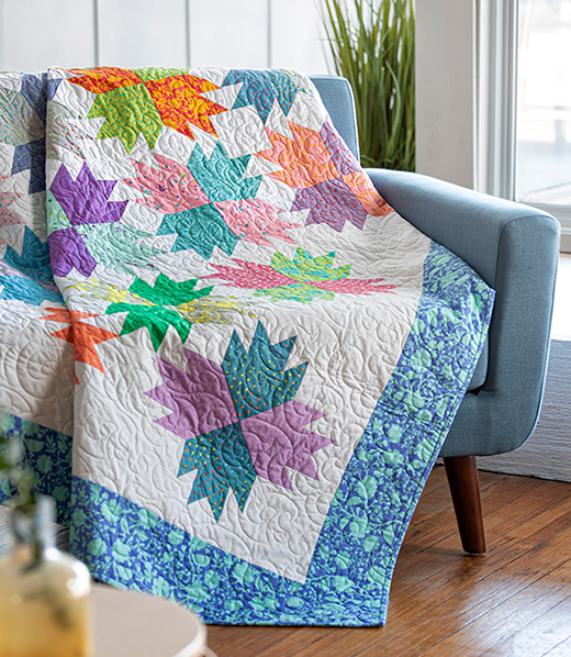 Bear Paw on Point Quilt Tutorial