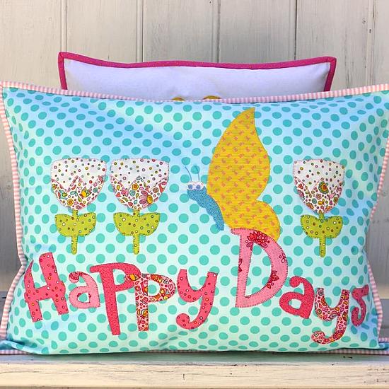 Happy Days Pillow Set Pattern