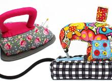 Sewing Machine and Iron Pincushion Patterns