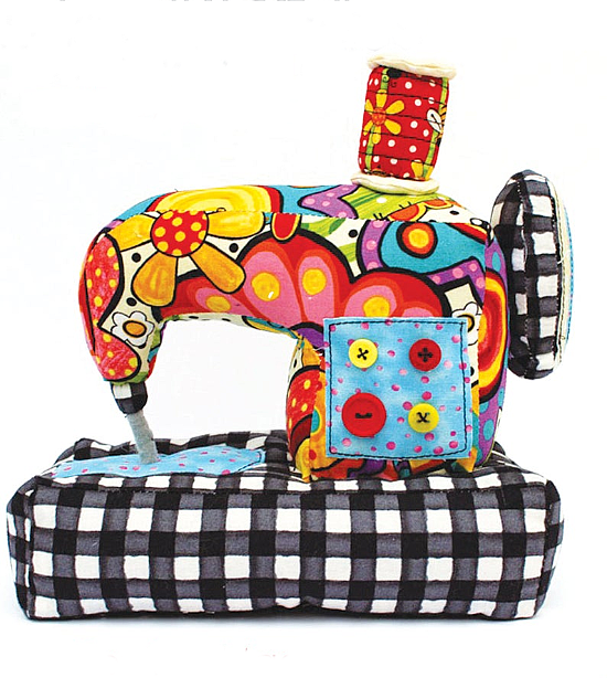 Sew Happy Pin Cushion Pattern