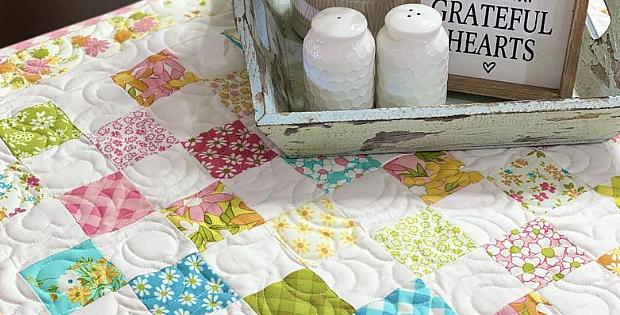 Mini Patchwork Quilt Pattern