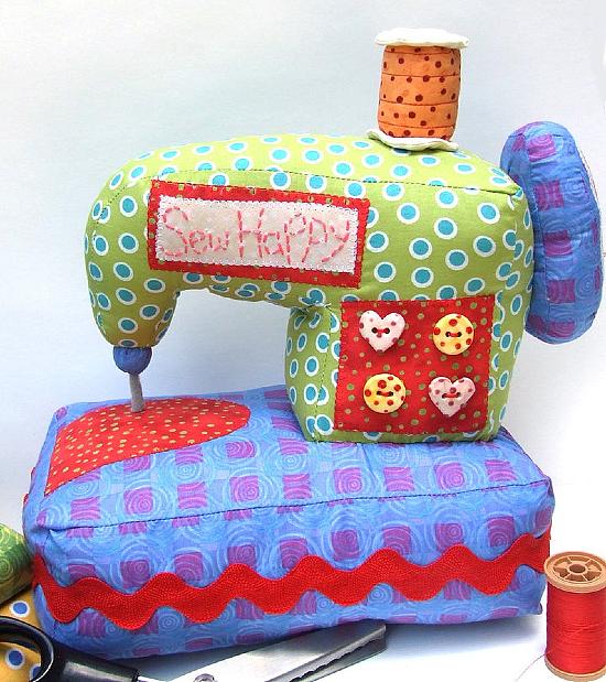 Sew Happy Sewing Machine Pattern