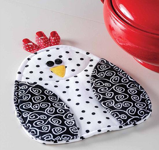 Chicken Pot Holder Pattern