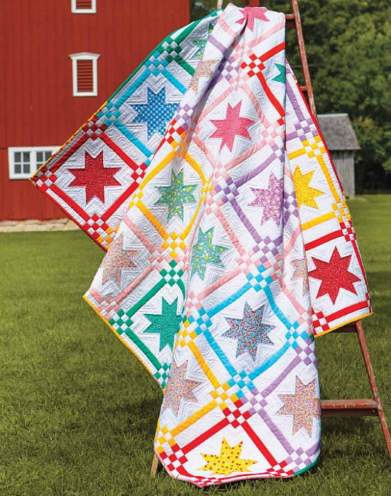 Mother's Fancy Star Quilt Pattern