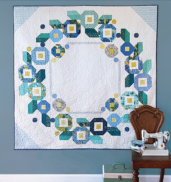 Ring Around the Posies Quilt Pattern
