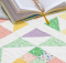 Nettie's Garden Mini Quilt Pattern