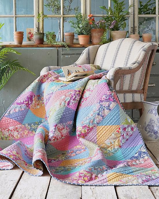 Lazy Gardener's Quilt Pattern