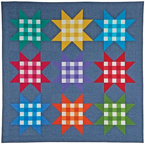 Picnic Stars Quilt Pattern