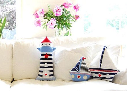Sailboat and Lighthouse Patterns