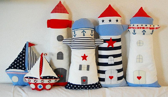 Lighthouse and Sailboat Patterns