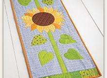 Sunflower Morning Table Runner Pattern
