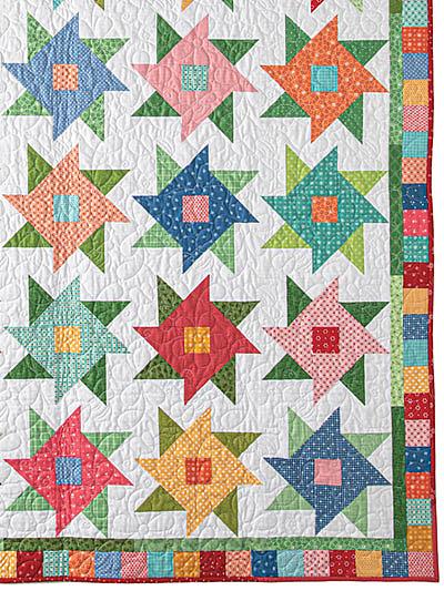 Farmer's Flowers Quilt Pattern