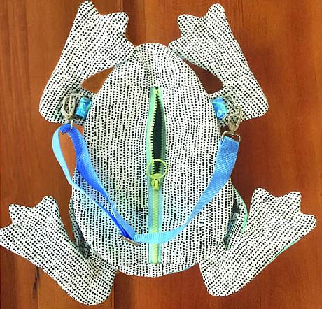 Zippit Ribbit Zipper Case Pattern