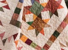 Autumn Stars Quilt Pattern