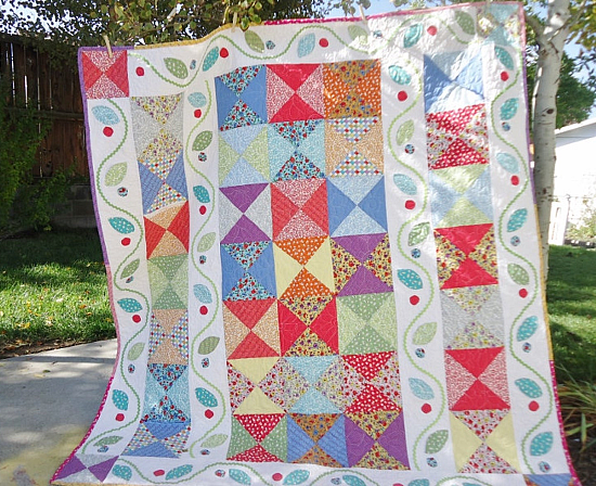 Cascading Garden Quilt Pattern