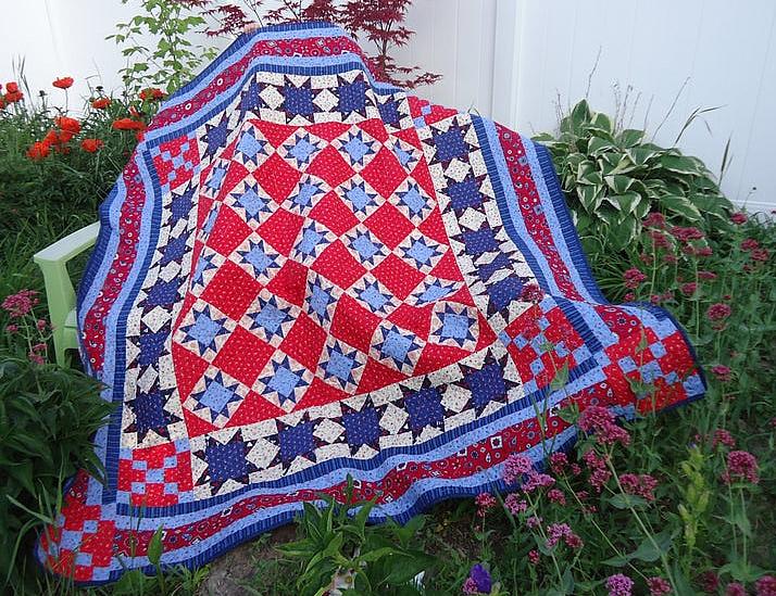 American Sparkler Quilt Pattern