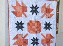 Pumpkin Mini Quilt Pattern