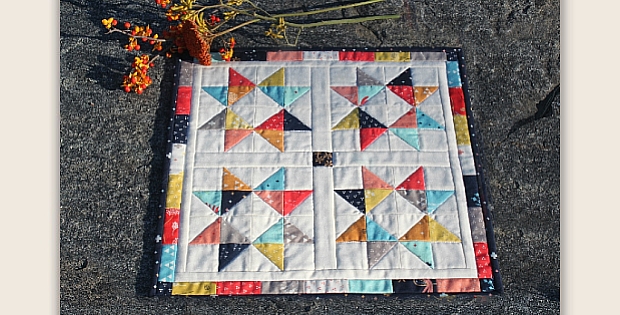 Candy Stars Quilt Pattern