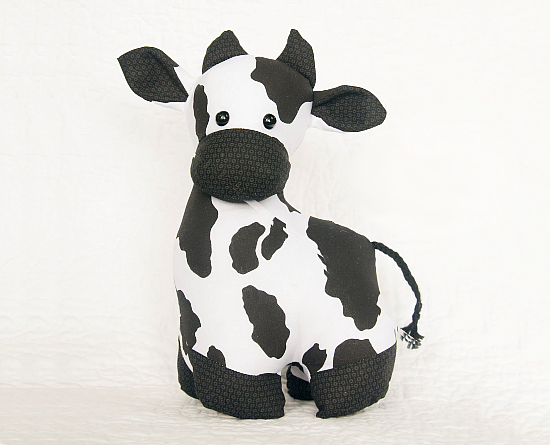 Cow Softie Sewing Pattern