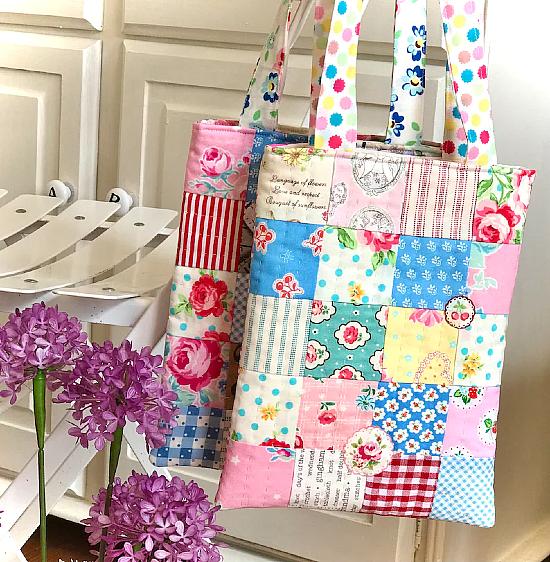 Tiny Tote Bag Pattern