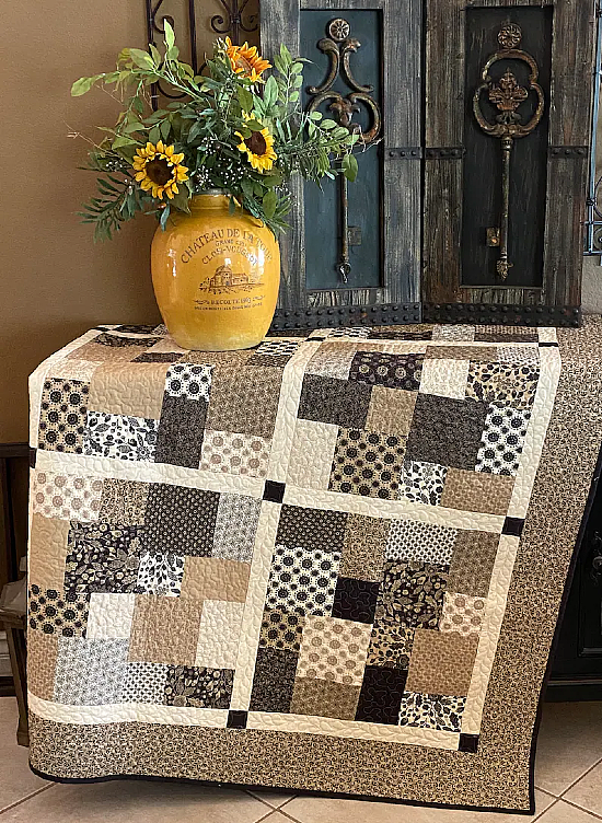 Layer Cake Toss Quilt Pattern