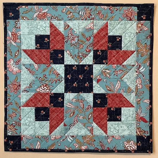 Double Star Barn Quilt Pattern