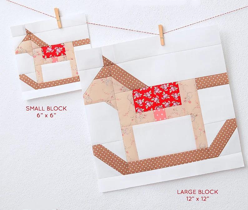 Rocking Horse Block Pattern