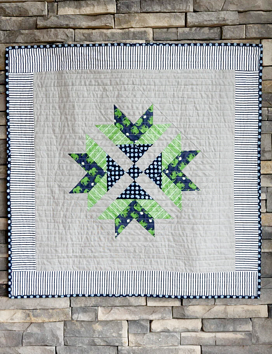 Picnic Crossing Quilt Pattern