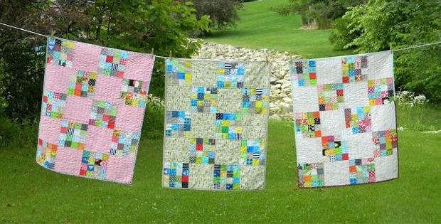 16 Block Baby Quilt Tutorial