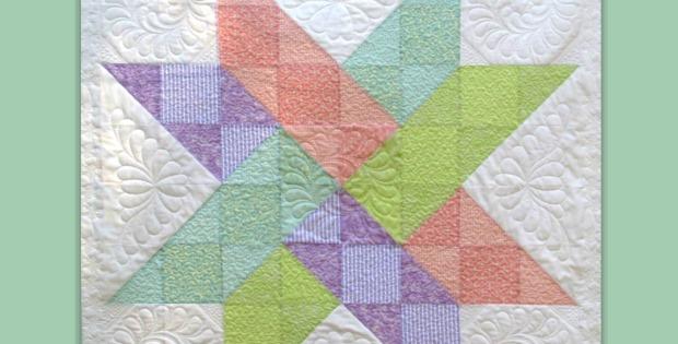 hidden star quilt