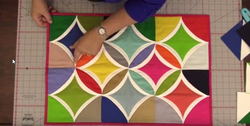 Easy Cathedral Window Quilt
