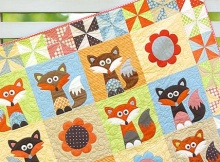 foxes quilt