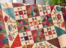 Kim Diehl's Late Bloomers Quilt