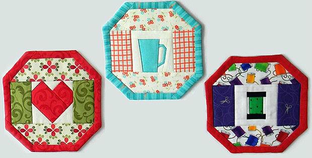 24 Mug Rugs Pattern