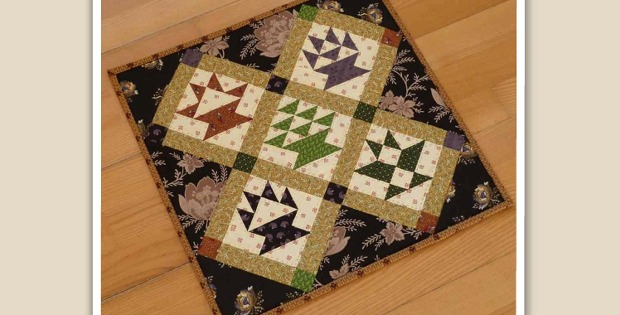 Blessing Baskets Mini Quilt