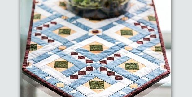 Casablance Table Runner Pattern