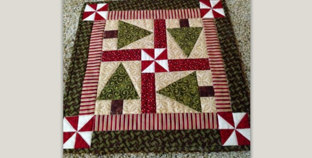 Make This Trees Table Topper For Holiday Cheer Quilting
