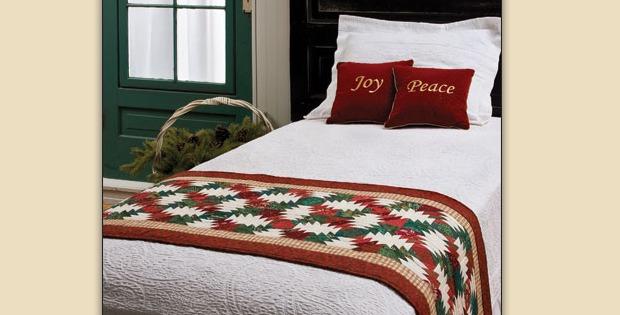 Christmas Bed Runner