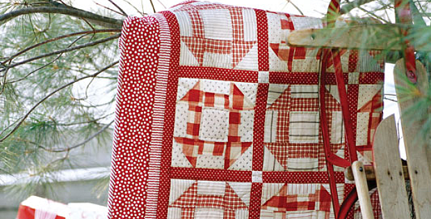 Candy Cane Quilt Pattern