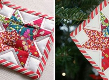 Patchwork Christmas Decoration