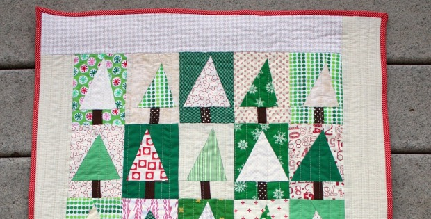 Sew Up A Patchwork Forest Quilt In No Time Quilting Digest