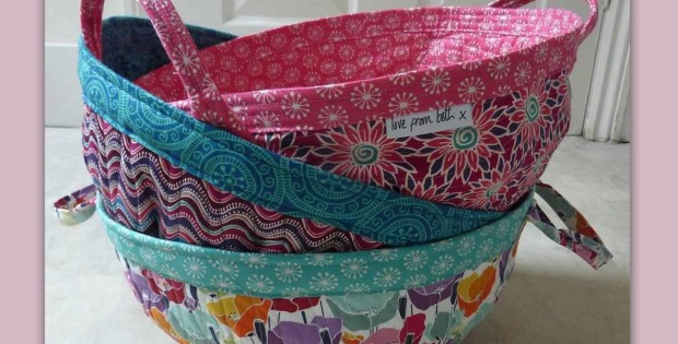Fabric Project Baskets