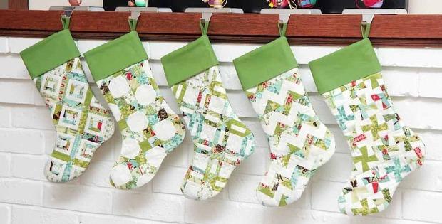 Scrappy Christmas Stockings
