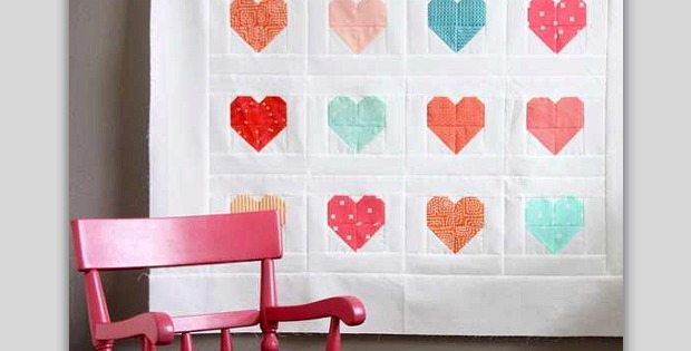 Simple Heart Quilt