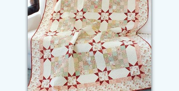 Paris Flea Market Find Quilt Pattern