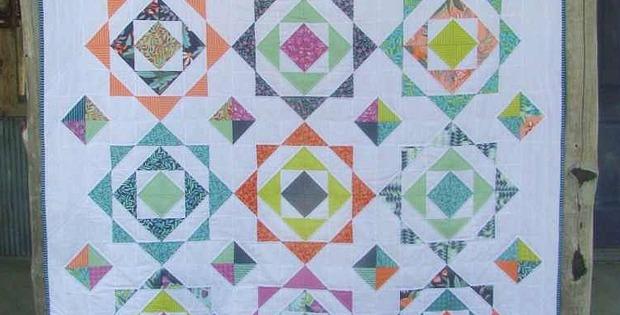 Prairie Rose Garden Quilt Pattern