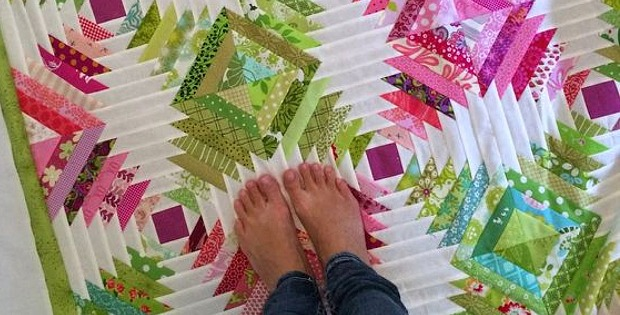 Pineapple Block Paper Piecing Tutorial