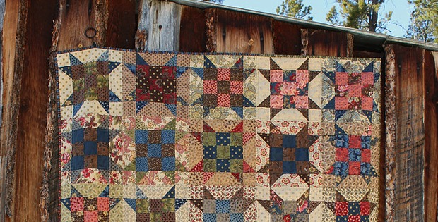 Scrappy Sister's Choice Quilt