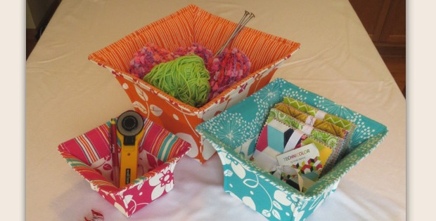 Flared Top Baskets