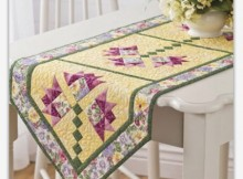 Lilies of the Field Table Runner